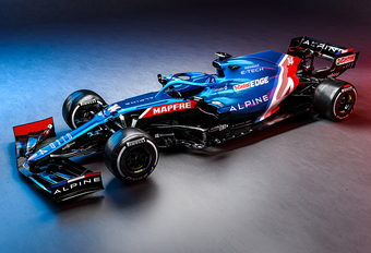 Formule 1 2021: Alpine-Renault A521 #1