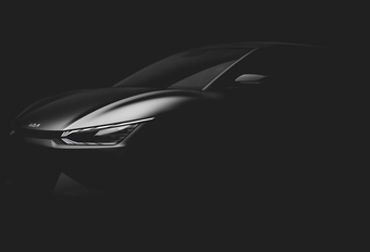 Kia EV6 : teaser du premier membre de la future famille EV #1