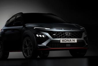 Hyundai Kona N, premier aperçu #1