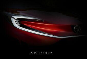 Toyota X Prologue: toekomstige Aygo  #1