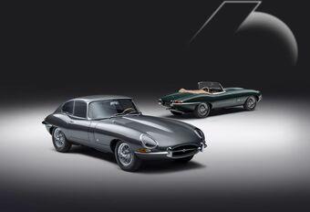 Jaguar E-Type 60 Edition is een restomod af fabriek #1