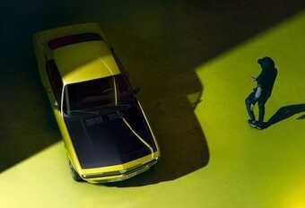 Opel Manta GSe ElektroMOD, courant nostalgique #1