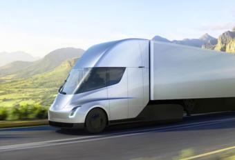 Tesla Semi druk bezig met wegtests #1