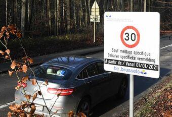 Zone 30 à Bruxelles : PV à 46 km/h #1