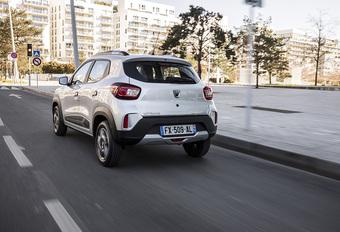 Belgische prijs elektrische Dacia Spring SUV bekend! #1