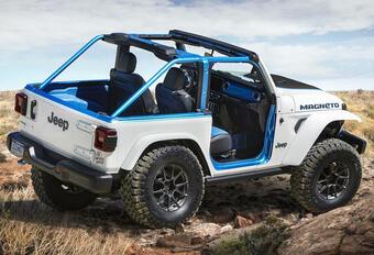 Jeep Magneto Concept is voorproefje voor elektrische Wrangler #1