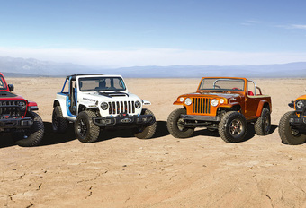 Easter Jeep Safari : un quatuor de concepts #1