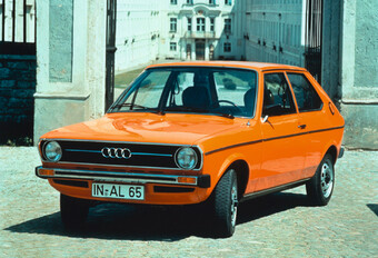 Throwback: Audi 50 (1974-1978) #1