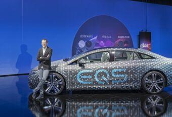 Mercedes EQS: alle details over zijn futuristisch interieur #1