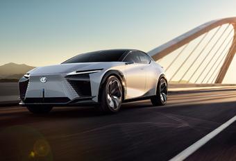 Lexus LF-Z Electrified is elektrische cross-over voor 2025 #1