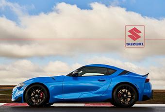Ook Toyota GR Supra krijgt Suzuki-variant #1
