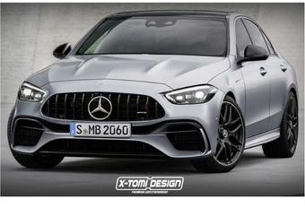 Mercedes belicht AMG-versies hybride C-Klasse en elektrische EQS #1