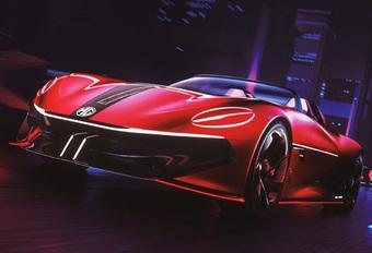 MG Cyberster Concept doet dromen van elektrische roadster #1