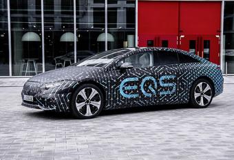 Elektrische Mercedes EQS heeft enorm rijbereik #1