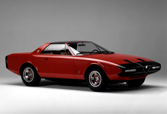 Back to the future met de Alfa Romeo Alfetta Spider Concept uit 1972 #1
