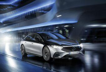 Mercedes EQS: de grenzen verleggen #1