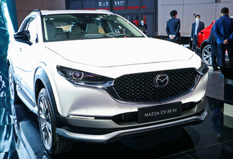 2021 Mazda CX-30 EV - Shanghai Motor Show