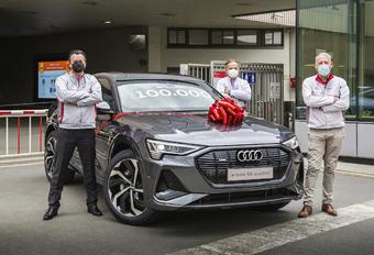 Audi Brussels, 100.000 Audi e-tron produites #1