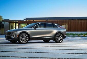 Cadillac Lyriq wordt elektrisch aangedreven luxe-SUV #1