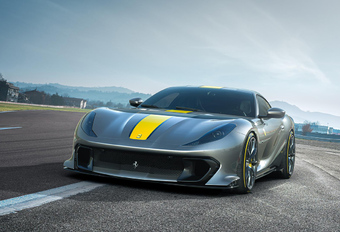 Ferrari Limited Edition V12, une 812 Superfast encore plus méchante