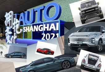 Top 10 - les voitures les plus marquantes du salon de l'automobile de Shanghai 2021 #1