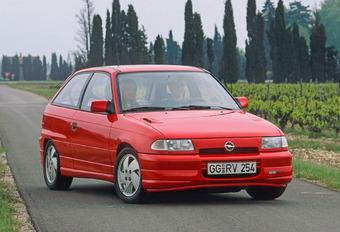 Opel Astra F de 1991 : la plus vendue des Opel #1