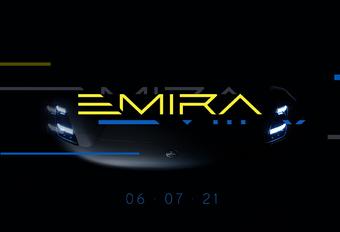 Opvolger Lotus Elise/Exige heet Emira #1