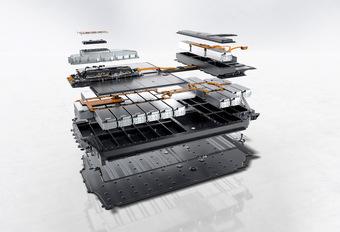 Porsche Taycan battery technology