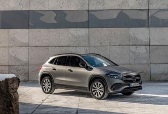 Elektrische Mercedes EQA nu ook als 300 en 350 4Matic + Belgische prijs #1