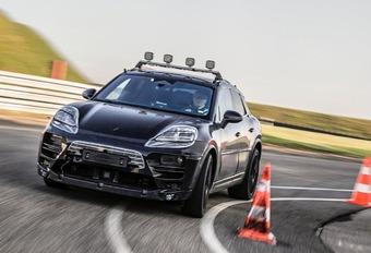 Porsche Macan EV Prototype