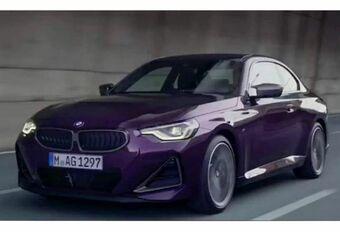 Gelekt: 2022 BMW 2 Reeks Coupé