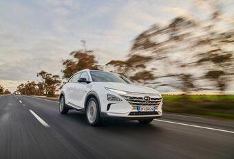 Hyundai Nexo Distance Record 2021