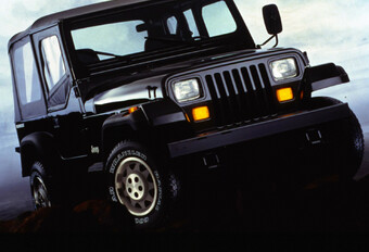 Throwback: Jeep Wrangler YJ (1986-1995) #1