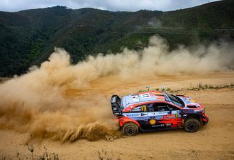 Slechts enkele puntjes voor gecrashte Thierry Neuville in Rally Portugal #1