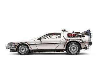 La DeLorean de Retour vers le futur officiellement reconnue comme une voiture légendaire #1