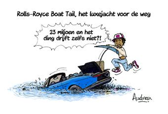 Verhaal van Audran - Rolls-Royce Boat Tail, te land of ter zee? #1