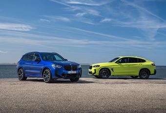 BMW X3M & X4M facelift pour les versions de pointe #1
