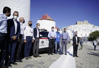 Volkswagen soutien la transition durable d'une île grecque #1
