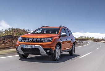 2021 Dacia Duster Phase 2 Facelift