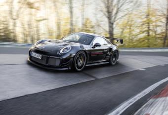 Porsche verovert ronderecord Nürburgring weer met 911 GT2 RS MR #1