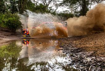 Opnieuw pech voor sterke Neuville in Rally van Kenia #1