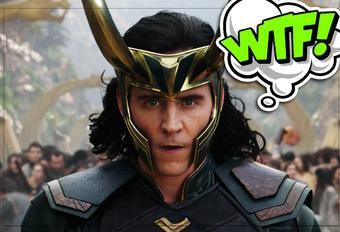 Loki is niet blij met zijn nieuwe auto