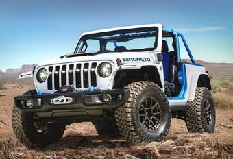 Jeep Wrangler 2 portes, plus vendue en Europe #1