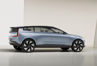 Volvo Concept Recharge : l'avenir électrique de la marque suédoise #1