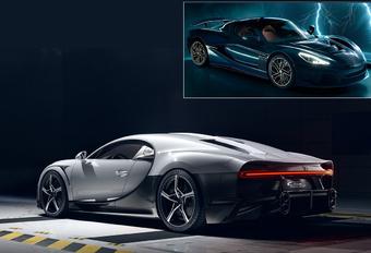 Bugatti Rimac Porsche