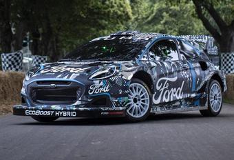 2022 Ford Puma Rally1 Hybrid WRC