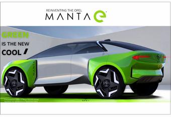 2025 Opel Manta-e SUV teaser
