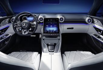 Mercedes-AMG SL 2022 Inside