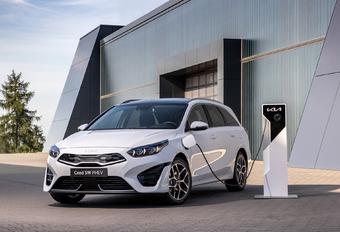 2022 facelift Kia Ceed, Ceed SW, Proceed