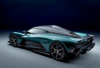 Aston Martin Valhalla is af en heeft Ferrari SF90 in het vizier #1